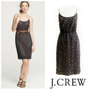 J. Crew Lace Blouson Dress Size 4
